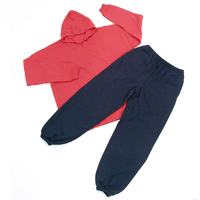 Sweatshirt w/ Hood + Jogging Pants